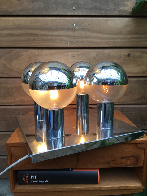 #staffleuchten#stafflamp#madeingermany#motokoishii #motokoishiilightingdesign#motokoishiidesign#spaceage#spaceagelamp #spaceagedesign#chrome#chromelamp#walllamp#midmod#belysning#vintage#vintagelamp#vejle#paulinekdk