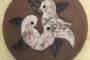 Vægophæng m/fugle